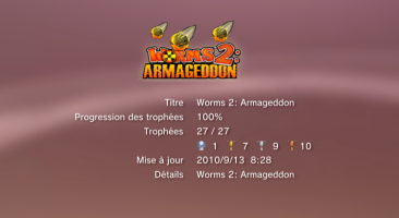 trophees Worms 2 armageddon liste PS3 - 20