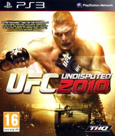 UFC indisputed 2010 jaquette cover front