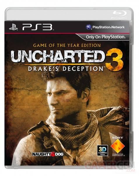 Uncharted 3 GOTY