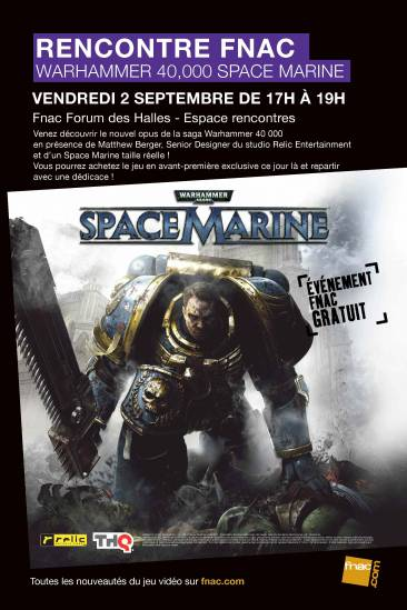Visuel générique Rencontre Space Marine