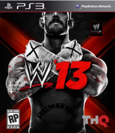 wwe 13 jaquette ps3