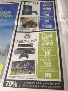 Xbox one ps4 the sun 17.06.2013.