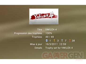 YAKUZA-4-trophees-LISTE- 1