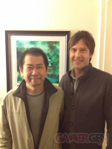 Yu Suzuki et Mark Cerny Shenmue III